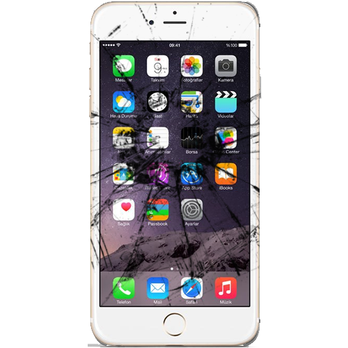 skifte glass iphone 6 plus